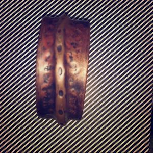 Jewelry - One of a kind handmade copper bracelet.